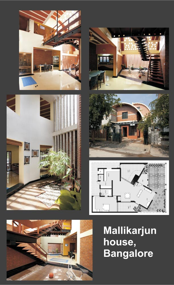 Exposed hollow clay blocks bsb architects architecture for Education design architects bangalore