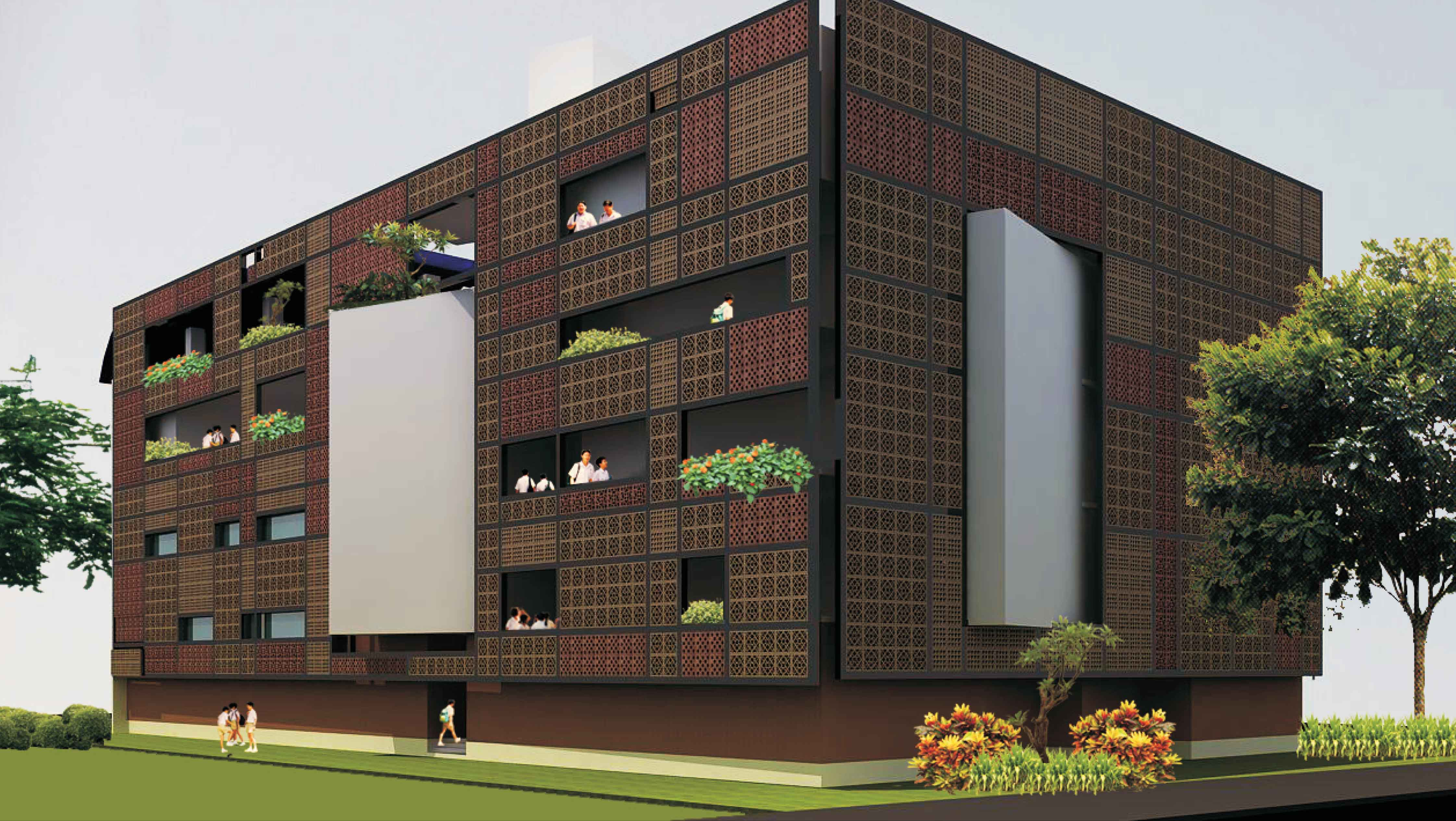 Architectural Screen Walls : Screen walls bsb architects architecture habitat